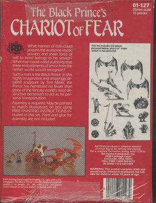 01-127 The Black Princes Chariot of Fear (back)