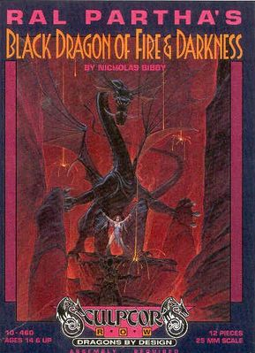 10-460 Black Dragon of Fire & Darkness (front)
