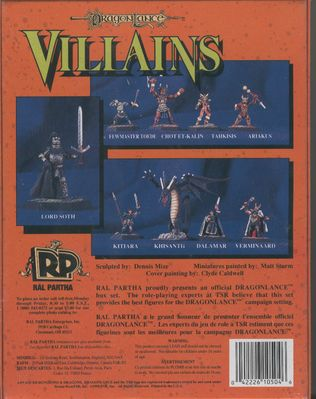10-504 Dragonlance Villains (back)