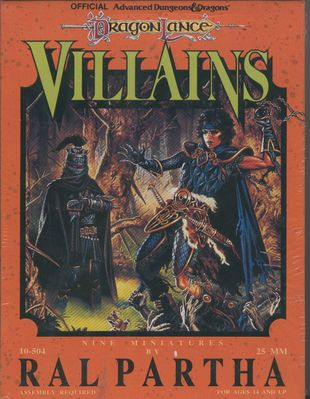 10-504 Dragonlance Villains (front)