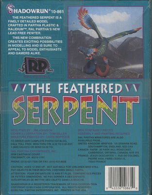 10-861 The Feathered Serpent (back)